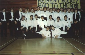 Madison West's 1983 State Championship Ice Hockey team
